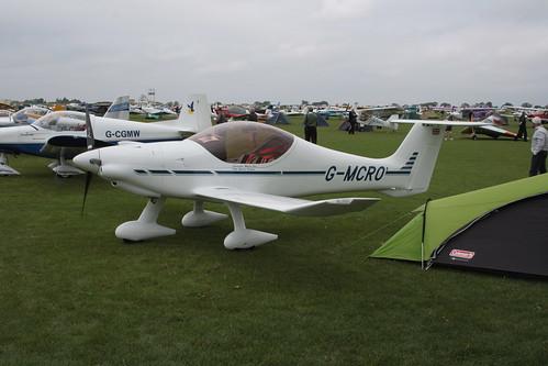 G-MCRO DynAero MCR-01 [LAA 301-14802] Sywell 030911