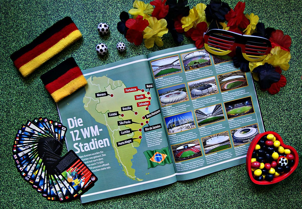 World Cup - Fußball-Weltmeisterschaft 2014 in Brasilien