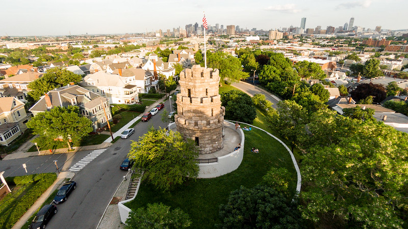 Prospect Hill Tower - Towards Boston