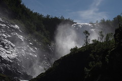 Flåmsbana waterfall