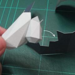 วิธีทำโมเดลกระดาษของเล่นคุกกี้รัน คุกกี้รสพ่อมด (Cookie Run Wizard Cookie Papercraft Model) 033