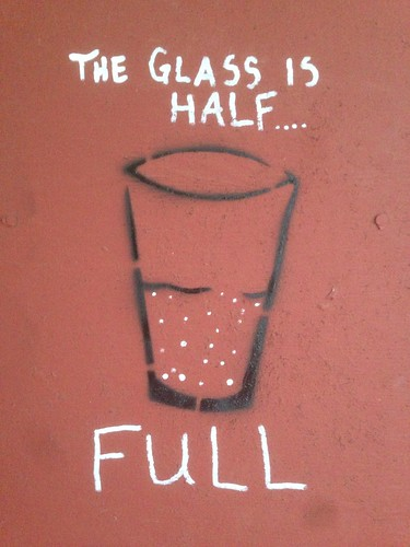 The glass is half full | by pasa47