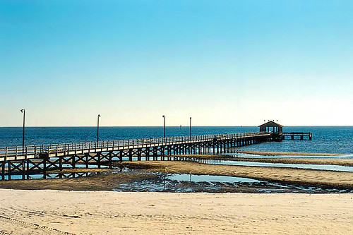 2001 beach gulfofmexico mississippi pier waterfront biloxi seashore