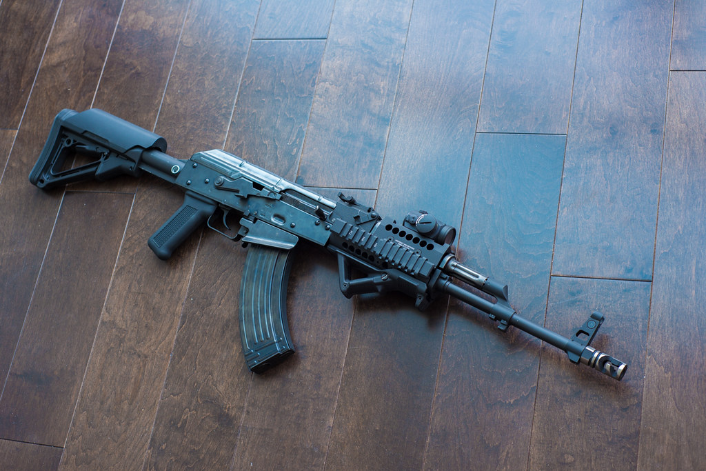 WE AK PMC | Midwest Industries Universal AK47/74 Rail Aimpoi