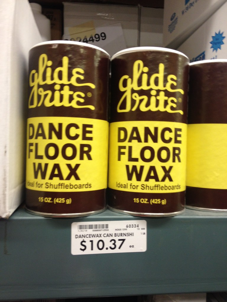 Glide Rite Dance Floor Wax Spotted At Cash Carry In Seattl Flickr