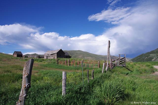 Abandoned Idaho ranch