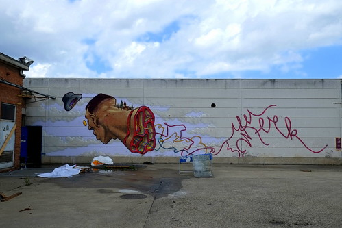 mural | a Squid called Sebastian | ghent . belgium