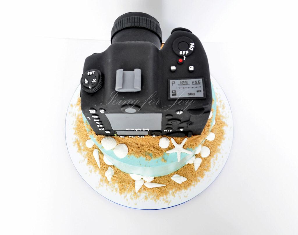 Outstanding Nikon Camera Cake Irene Flickr Personalised Birthday Cards Sponlily Jamesorg
