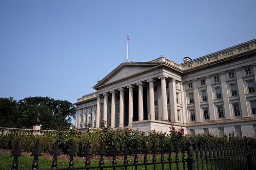 The US Treasury Department | by romanboed