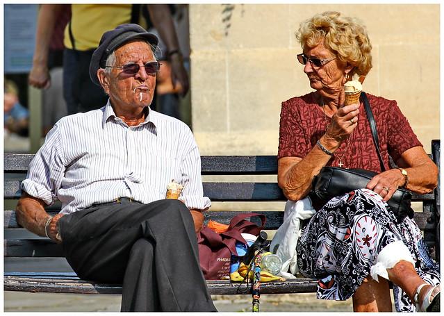 Moment of Realisation - French Couple - Abbey Yard Bath