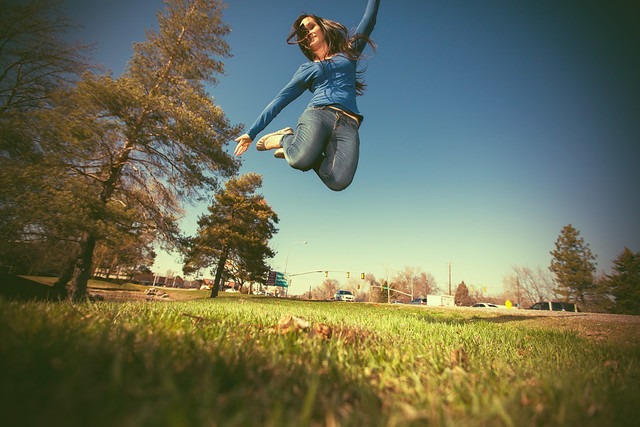 Edgy jump