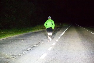 It's a lonely road as Nick makes his way along stage 10