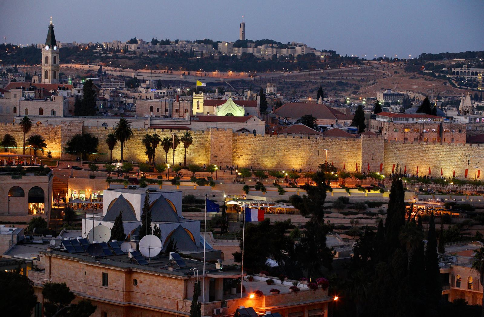 Jerusalem _ Old and New _ evening _ Noam Chen_IMOT