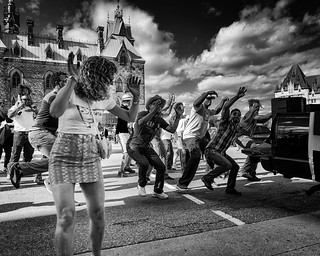 Brazilian Tailgate Street Dancers | by I saw_that