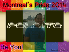 Pride Montreal - Graphic Flyer Designed by Felipe M.