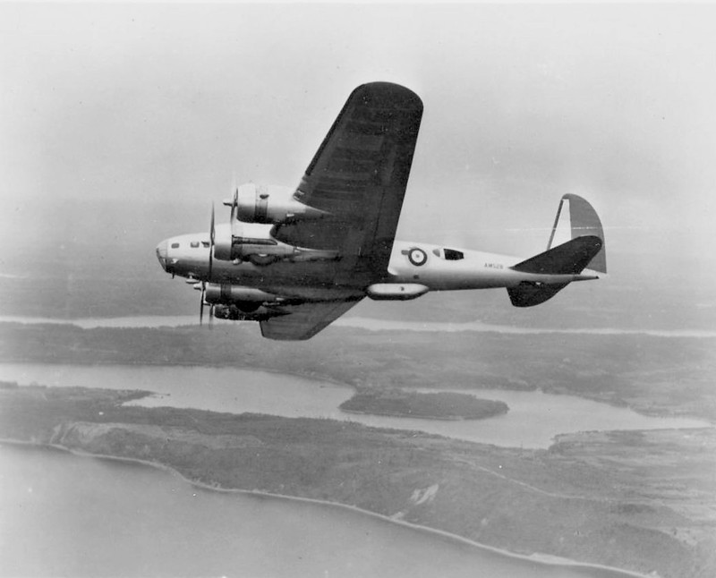 B-17C bomber of the British Royal Air Force 1941