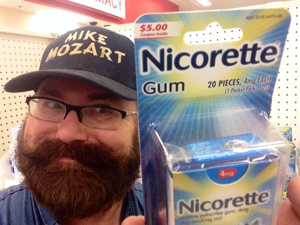 Nicorette Gum, Stop Smoking, GlaxoSmithKline, 9/2014 by Mi