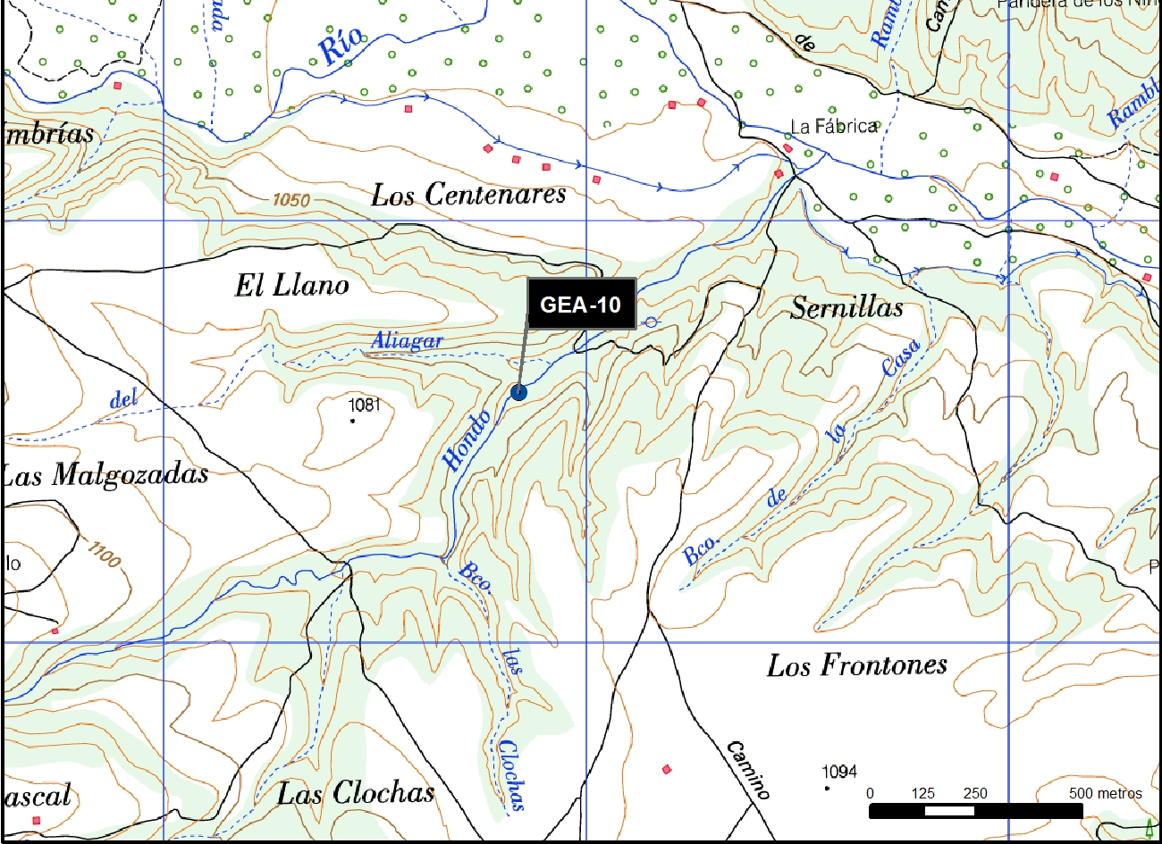 GEA_10_M.V.LOZANO_BARRANCO HONDO_MAP.TOPO 2