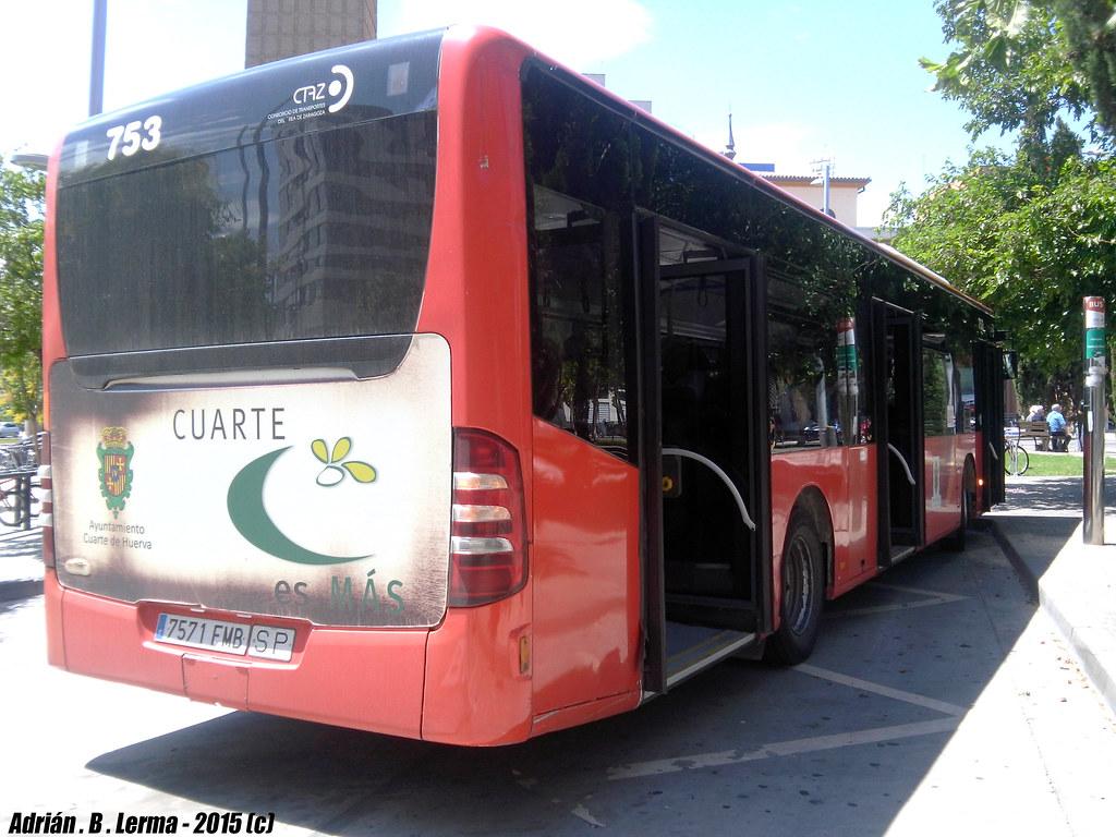 Mercedes Benz 0530 Citaro / Ágreda 753 | El autobús que hace ...