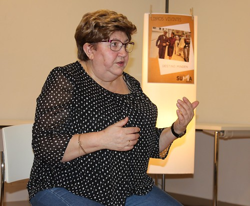 Libros vivintes: Pilar Rodríguez