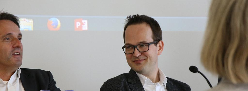 Dr  Jan Treibel, Politikwissenschaftler und Cheflektor Pol