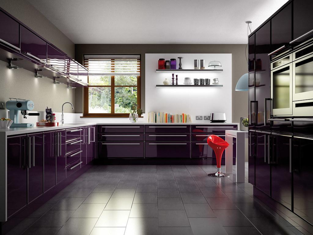 0 Aubergine Küche