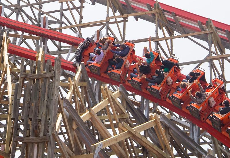 Medusa Steel Coaster Six Flags Mexico