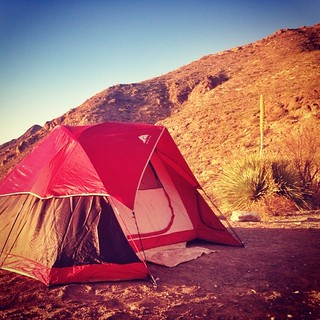 Today is the Great American Campout & we're camping in our own backyard @FranklinMtnsSP! #itsallgoodep Are you participating? Let us know where you're camping out! #campie #outdoors #realadventure | by VisitElPaso