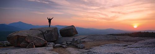 new york sunset mountain ny rocks upstate adirondacks hdr balanced adks pitchoff