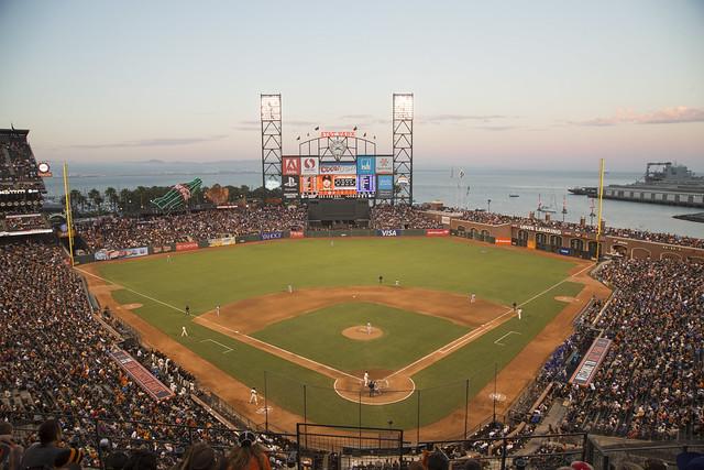 A Summer Night at the Ballpark