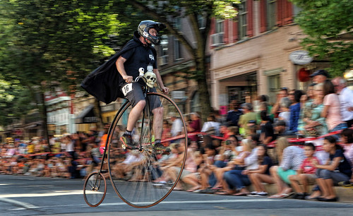 High Wheel race in Downtown Frederick, MD | by quigley_brown (Jim Hamann)