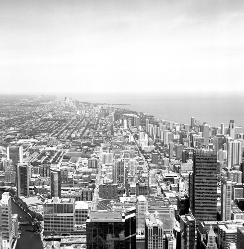"""Image titled """"#2, From the Sears Tower, Chicago."""""""