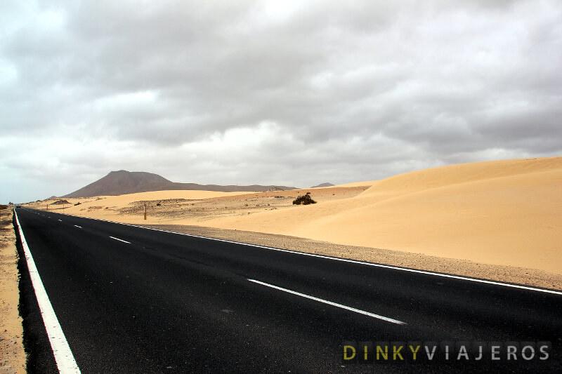 Fuerteventura. Parque Nacional Dunas de Corralejo
