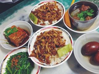 at 金峰魯肉飯 Kinfen Braised Pork Rice – View on Path.   by Debbs.
