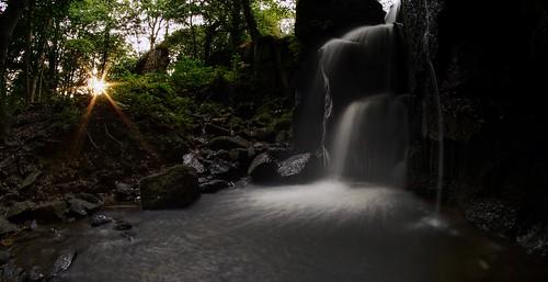 waterfall derbyshire sony 8mm slt matlock samyang a37 lumsdale