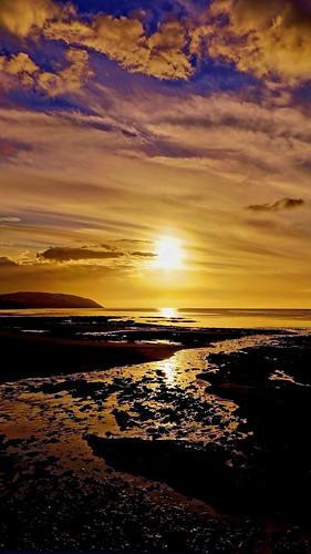 sea sky beach water sunrise sony alpha douglas isleofman douglasbay