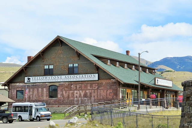 Now the Yellowstone Association Visitor Center
