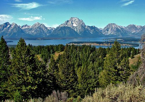 Teton & Jackson Lake From Signal Mt. 8-11 | by inkknife_2000 (10.5 million + views)