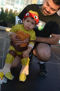 Super Baby - Baby Ninja Turtle - Armando Castro | by CASA of Travis County