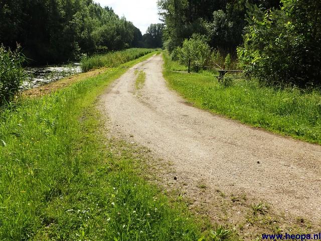 12-06-2014 Dronten Roggebotzand  20 Km (16)