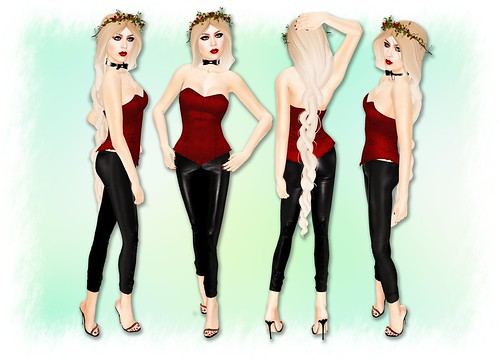 Compulsion Corset / TB Leggings | by Salome Strangelove