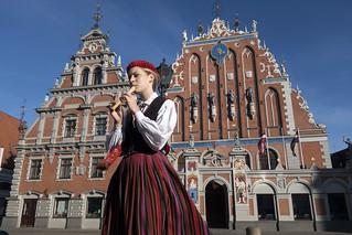 The House of Blackheads, Riga, Latvia   by Bryan Ledgard