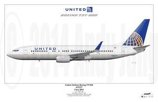 United Airlines Boeing 737-824 (N37277)   United 737-824, re…   Flickr