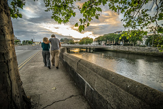 The romantic couple, Dublin, Ireland | by Giuseppe Milo (www.pixael.com)