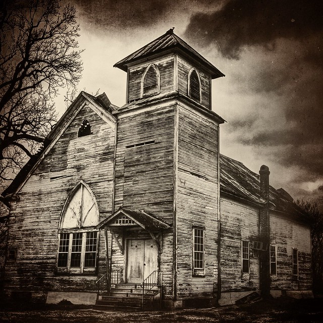 A favorite old rural church, deep in the Mississippi Delta ...
