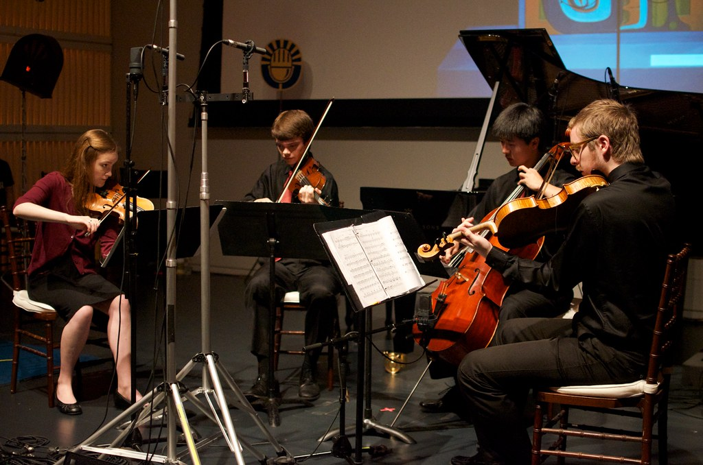 Rachel Stenzel from Quartet Fuoco | 17-year-old violinist