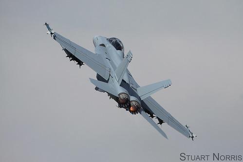 Boeing F/A-18F Super Hornet   by stu norris