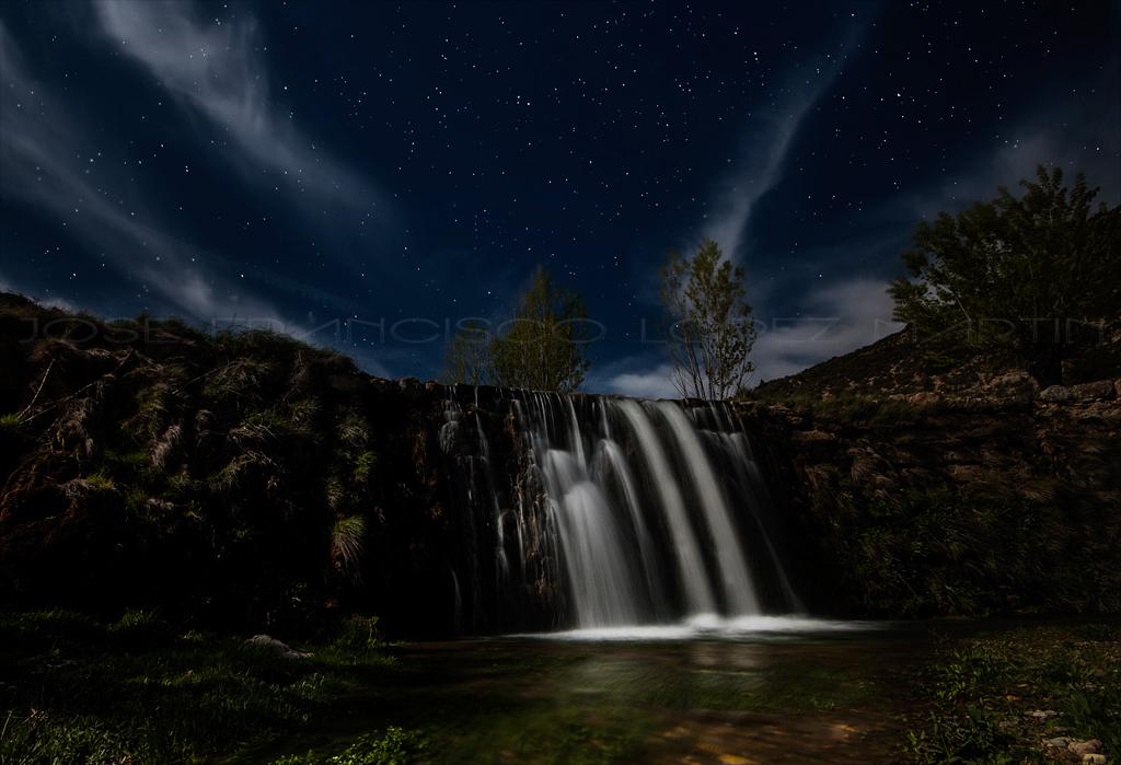 Noche En El Azud Del Molino Bajo La Hoz De La Vieja Ter Flickr