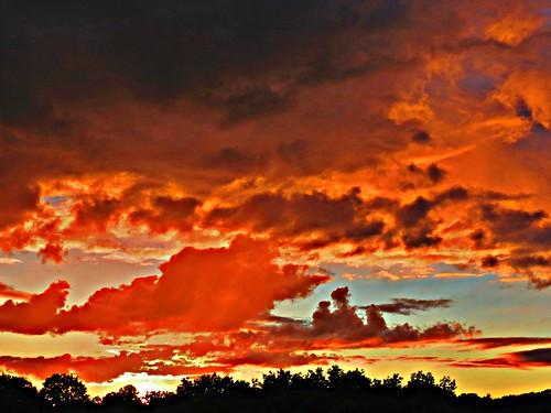 sunset toronto ontario canada