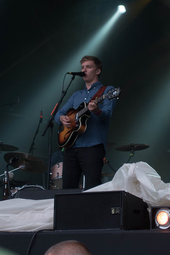 George Ezra supporting Robert Plant at Glastonbury Abbey | by p_a_h